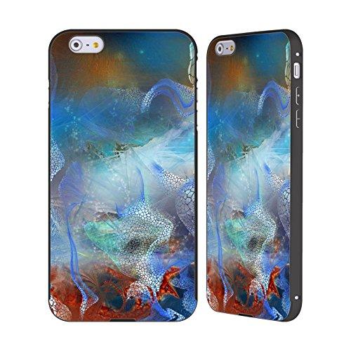Ufficiale Runa Barriera Corallina 2 Vivido Nero Cover Contorno con Bumper in Alluminio per Apple iPhone 5 / 5s / SE Rete