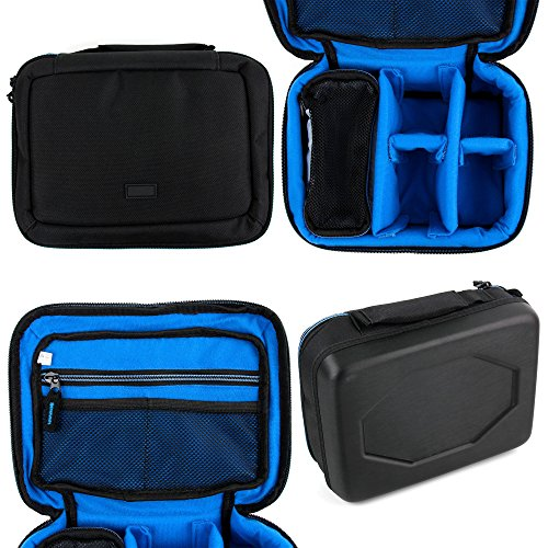 Price comparison product image Protective EVA Action Camera Bag / Case for the Medion Erazer Gaming Mouse X81026 (MD 87433) | Medion Erazer Gaming Mouse X81044 (MD 87444) - by DURAGADGET