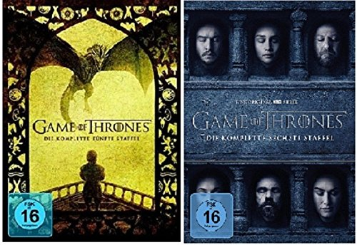 game of thrones staffel 6 deutsch dvd Game of Thrones - Season / Staffel 5+6 * DVD Set