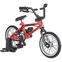 Goolsky LX801 Accesorios Decoración Mini Mountain Bike modelo de juguetes para 1/10 Traxxas Axial SCX10 Tamiya RC4WD D90 D110 TF2 RC Crawler