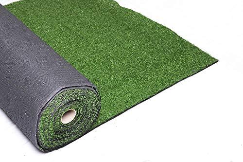 xone prato golf verde artificiale 7mm x h1x10 mt - tot. 10m² | erba giardino artificiale | tappeto verde erba | manto prato sintetico 7mm
