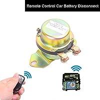 Batterie Télécommande Interrupteur, Cocar 24V Batterie Terminal Isolateur Télécommande Contrôle Connexion Interrupteur Voiture Auto Antivol électromagnétique Solénoïde Commutateur - Relais de Verrouillage