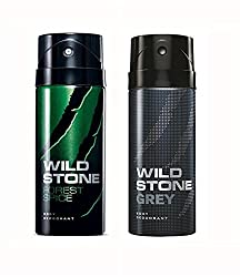 Wild Stone Forest Spice And Grey Deodorant For Men (150 ML)