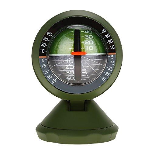 TOPINCN Auto Neigungsmesser Outdoor Multifunktions Winkel Slope Meter Tilt Gauge Anzeige Gradienten Balancer Werkzeug Für Fahrzeug Elektronische Boot Kompass