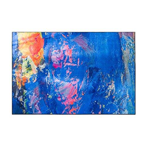 XXY Tappeti Tappeti Morbidi Tappeti rettangolari Tappeti Moderni e minimalisti Tavolini da caffè Tappeti Divani Tappeti Camerini Comodini Tappeti (Color : Blue, Size : 140 * 200CM)