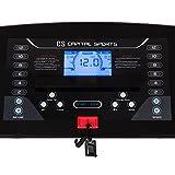 CAPITAL SPORTS Pacemaker X20 Laufband Heimtrainer (4 PS, 16km/h, klappbar, gedämpfte Lauffläche, 16% Steigung, 25 Trainingsprogramme, Trainigscomputer, mit oder ohne Brustgurt) silber - 5