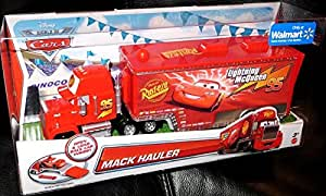 disney cars x9639 mack hauler lkw von lightning mc queen. Black Bedroom Furniture Sets. Home Design Ideas
