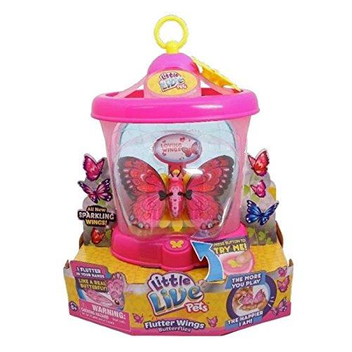 Preisvergleich Produktbild Little Live Pets Schmetterling Metallic + Gewächshaus Flügel D 'Amour Saison 2