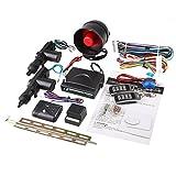 Sedeta® Auto-Sicherheit Alarm 2 Türsteuerung Zentralverriegelung Schließer Set mit Stoßsensor Wegfahrsperre