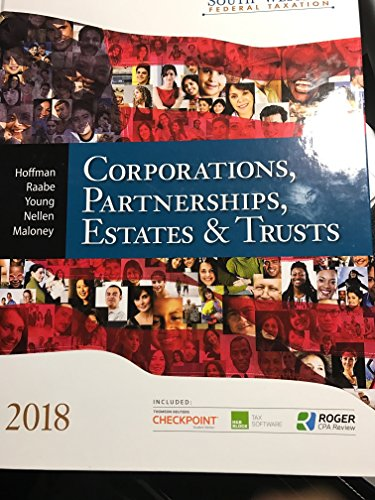 South-western Federal Taxation 2018: Corporations, Partnerships, Estates and Trusts por William H. Hoffman