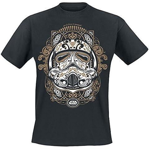 La Guerra de las Galaxias Trooper De Los Muertos Camiseta Negro