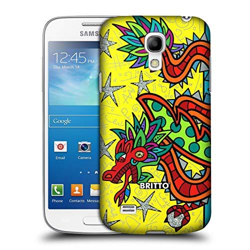 Head Case Designs Offizielle Britto Viel Glueck Abstrakte Abbildungen 2 Harte Rueckseiten Huelle kompatibel mit Samsung Galaxy S4 Mini I9190