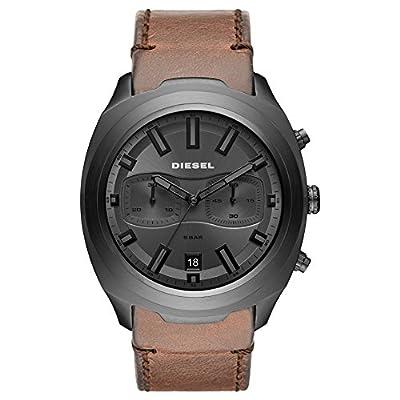 Diesel Reloj Cronógrafo para Hombre de Cuarzo con Correa en Cuero DZ4491