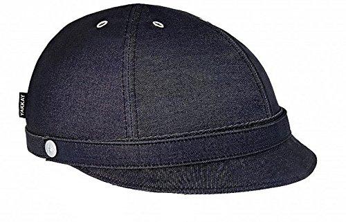 Medium Helme Helme & Protektoren YAKKAY Wechselcover Paris Black Oilskin