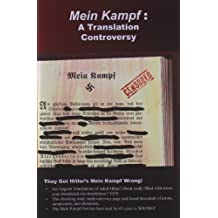 Mein Kampf: A Translation Controversy by Michael Ford (2009-04-22)