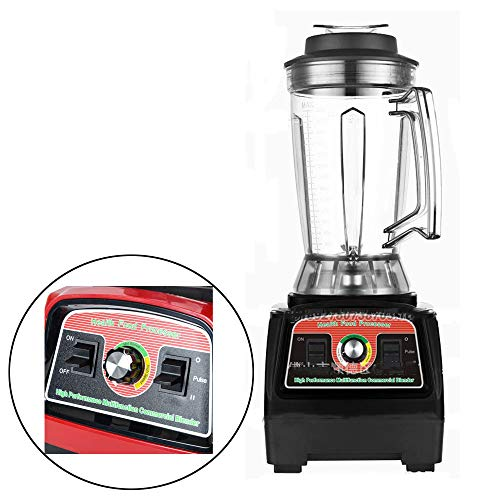 CONRAL 2800W Smoothie Maker, 4-in-1-Mixer-Maschine mit 3,9-Liter-Mischbecher, multifunktionaler Eisbrecher-Schleifer-Entsafter-Drücker, scharfe Klingen aus Edelstahl, Rühren und Mischen