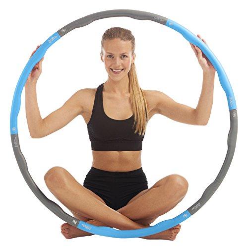 Just be. Fitness Hula Hoop Blue 1.5kg -