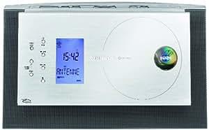 Grundig Ovation CDS 6680 USB Kompaktanlage (CD, Radio, USB) schwarz/silber