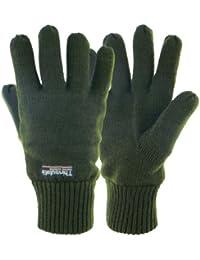 Highlander Drayton - Guantes térmicos verde verde oliva Talla:xx-large