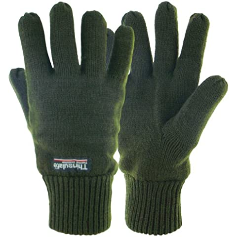 Highlander - Guanti imbottiti termici Drayton, verde (verde oliva),