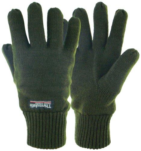 Highlander Drayton Gants thermiques vert - Vert olive