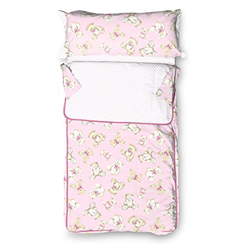 Burrito Blanco - Saco Nórdico 149 Rosa de cama de 90x190/200 cm