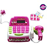Kiditos Cash Register Set With Mic + Scanner + Calculator For Kids