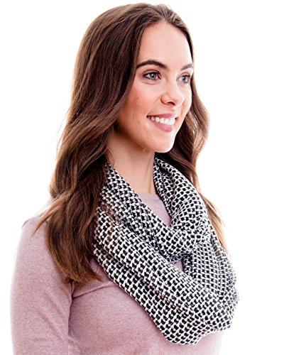 Damen Herbst Halstuch/Schal / Schulter-Tuch oder Umschlagstuch, Herbst Tuch:schwarz