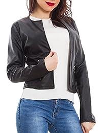 ce4f4fb776 Amazon.it: giacca ecopelle donna - toocool-shop: Abbigliamento