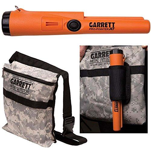 Garrett Detector de Metales Pro Pointer en Propointer Impermeable Bolsa de Camuflaje