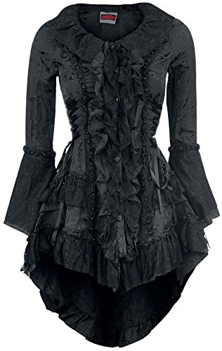 Jawbreaker Victorian Jacket Cappotto donna nero S