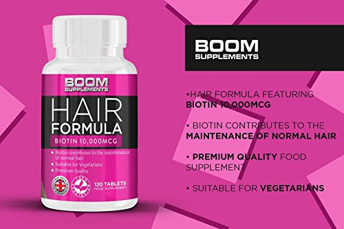 Biotina 10000 mcg Boom supplements