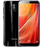 HOMTOM S7 - 5,5 Zoll (18: 9-Verhältnis) Vollbild Android 7.0 4G Ultra-Slim-Smartphone, 3 GB RAM 32 GB ROM Quad-Core-Triple-Kamera (8MP + 2MP + 13MP) - Schwarz