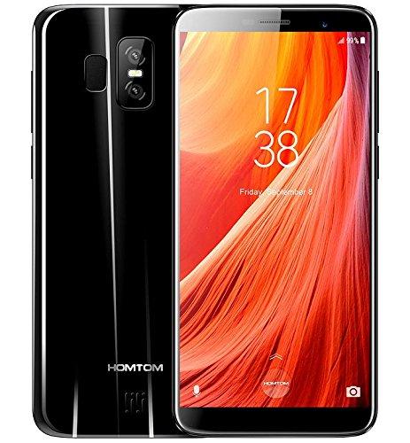 HOMTOM S7 - 5.5 pulgadas (proporción de 18: 9) pantalla completa Android 7.0 4G ultra delgado smartphone, 3 GB de RAM...