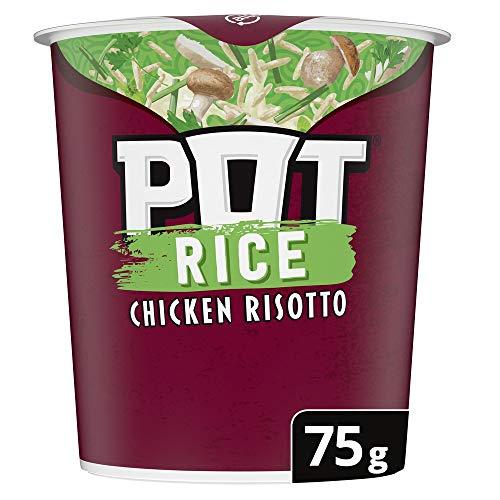 Pot Noodle Pot Rice Chicken Risotto Snack Pot, 75 g