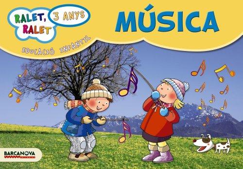 Ralet, ralet P3. Música. Carpeta de l'alumne - 9788448929336 (Materials Educatius - Parvulari - 3 Anys)