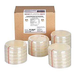 Servoplate C3 10413 Nährböden, Sabouraud 2% Glucose Agar (20-er Pack)