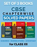 CBSE Chapterwise Solved Papers Economics,  Accountancy,  Business Study Class 12