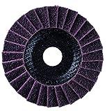 Sonnenflex Silverstar Fächerschleifscheiben Vlies mittel, 162 x 22,23 mm, 97053