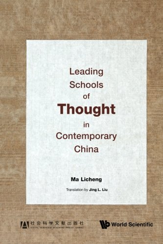 Leading Schools Of Thought In Contemporary China por Licheng Ma