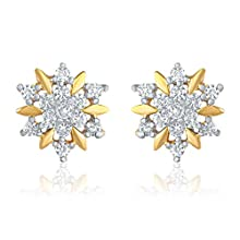 Mahi Gold-Plated Stud Earings For Women ( GoldER1109175G)