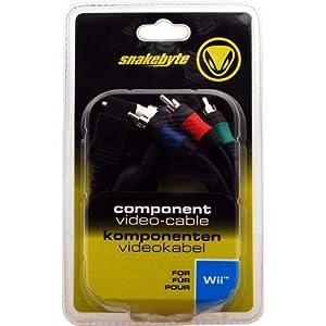 Component-Video-Cable -black- Komponenten-Video-Kabel – [Nintendo Wii, Wii U]