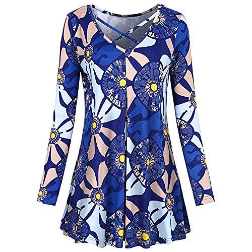 SamMoSon Damen Kleid Sommer Elegant Kleider Knielang Festlich Hochzeit Partykleid Rockabilly Retro...