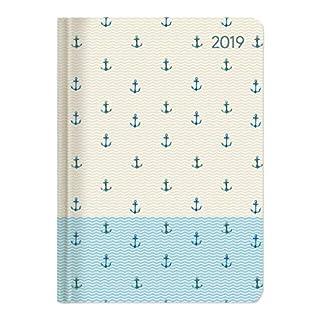 Ladytimer Anchor 2019 - Taschenplaner / Taschenkalender A6 - Weekly - 192 Seiten - Notizen
