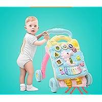 Baby Walker - Puzzle multifunción para bebé con juguete de música para coche