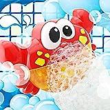 Lomire Badewannenspielzeug,Seifenblasenmaschine Automatisch Wasserspielzeug mit Musik ab 18 Monate, Baby Spielzeug für die Badewanne