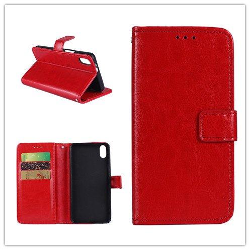 Custodia® Flip Brieftasche Hülle mit Standfunktion für Umi Umidigi One Max(Muster 3)
