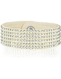 Rafaela Donata - Bracelet fashion cristal de verre - En différentes longueurs, bracelet cristal de verre - 60917068
