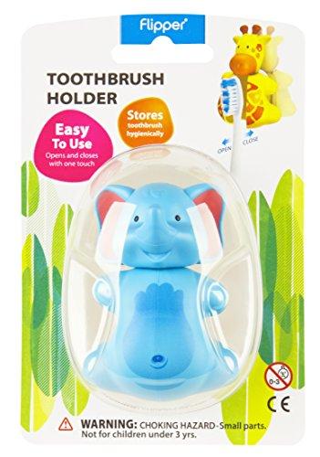 Flipper Toothbrush Holder Fun Animal Elephant