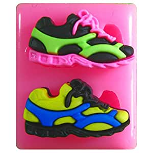 Pair of Running Shoes/Trainers Silicone Mould Mold for